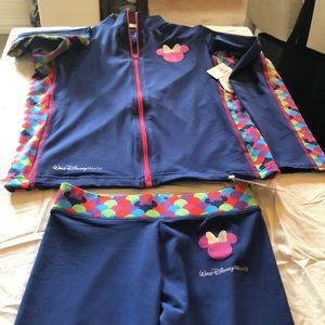 Jacket and pants for girls by Disney